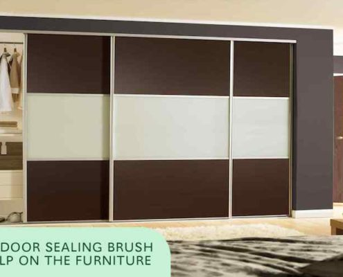 Door Sealing Brush