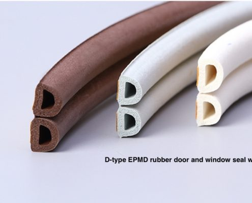 D type Door and Window EPDM Rubber Adhesive Sealing Strip Wardrobe Seals .jpg