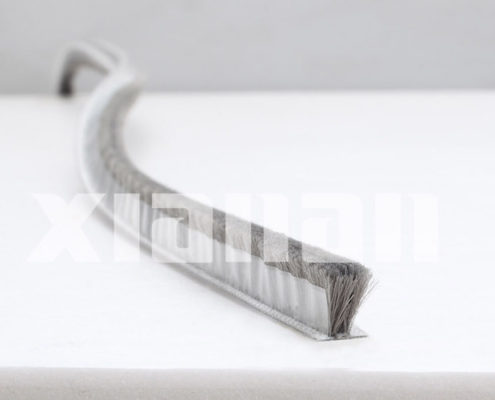 silicone weather strip with fin